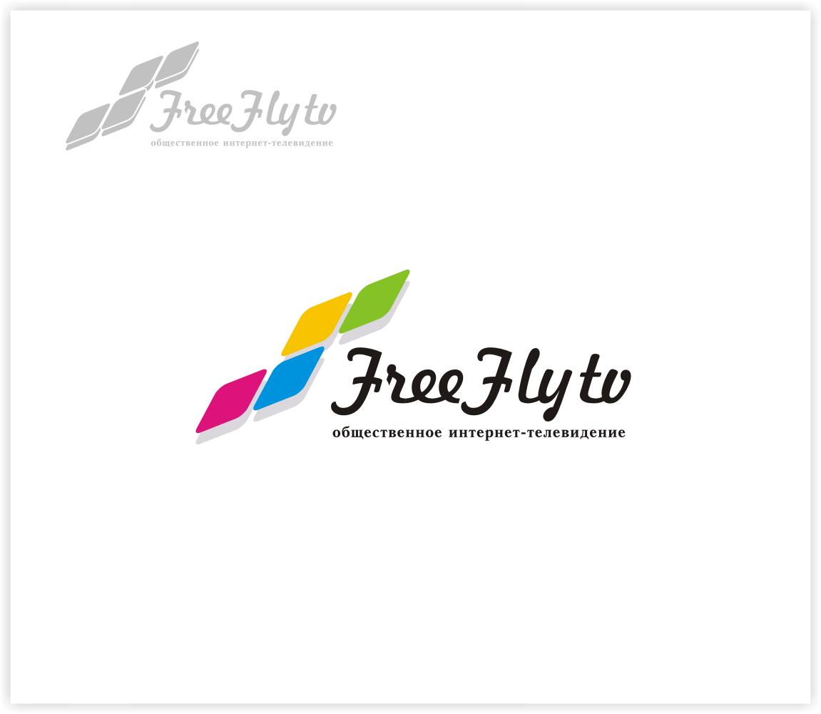 Логотип для общественного интернет-телевидения FreeFly фото f_4f98648b5f3bd.png