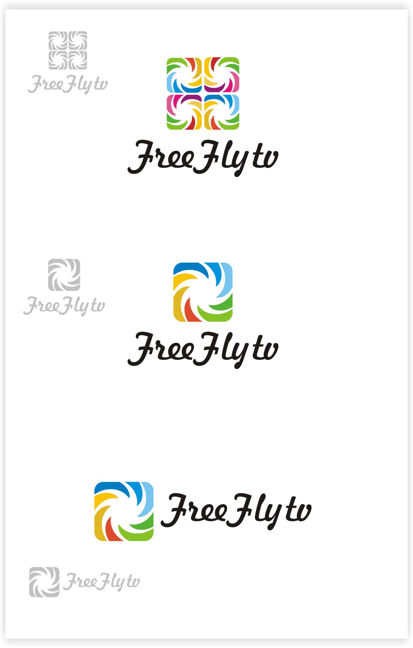 Логотип для общественного интернет-телевидения FreeFly фото f_4f9867de46a78.png