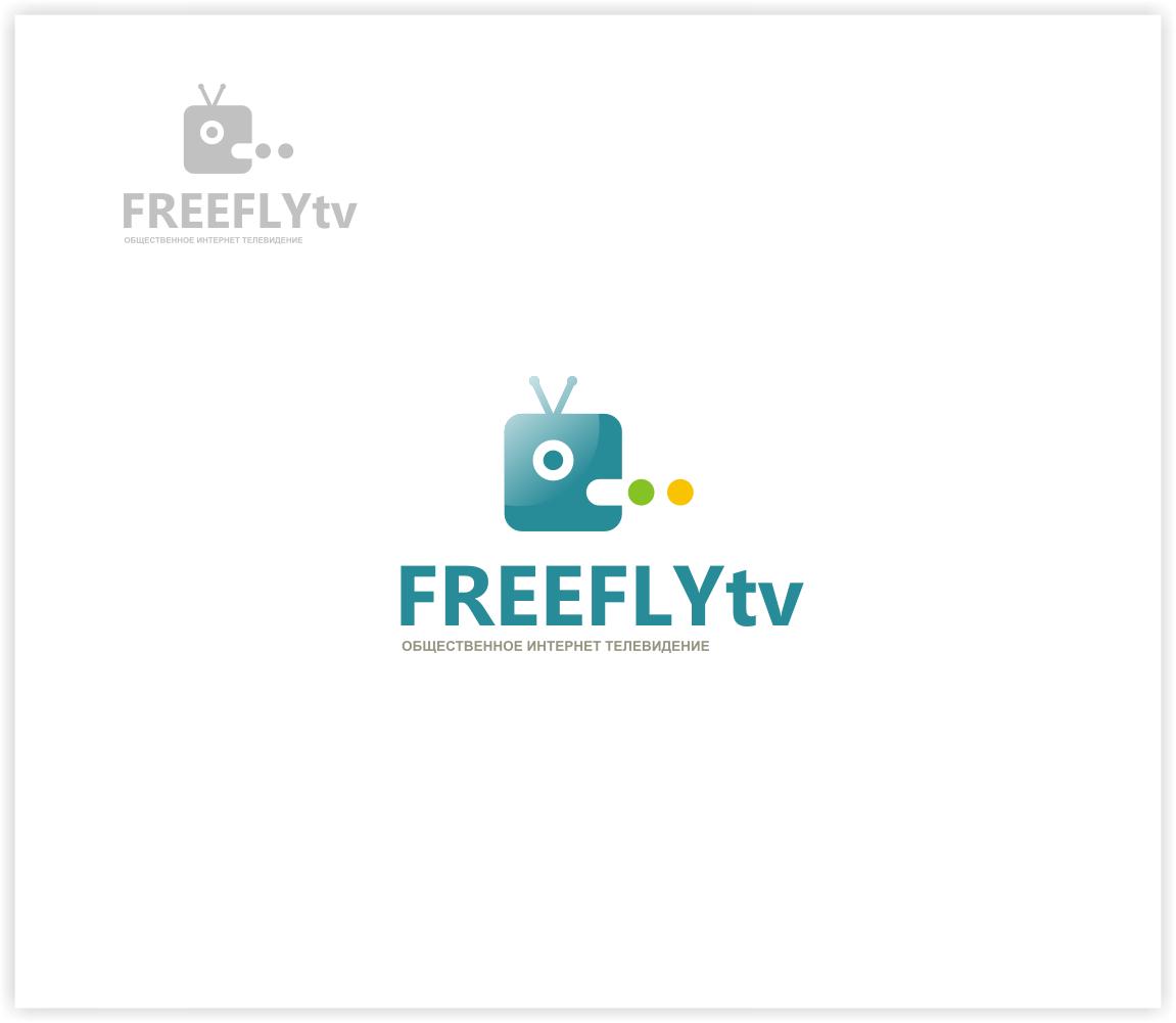Логотип для общественного интернет-телевидения FreeFly фото f_4f9873a7b4e40.png