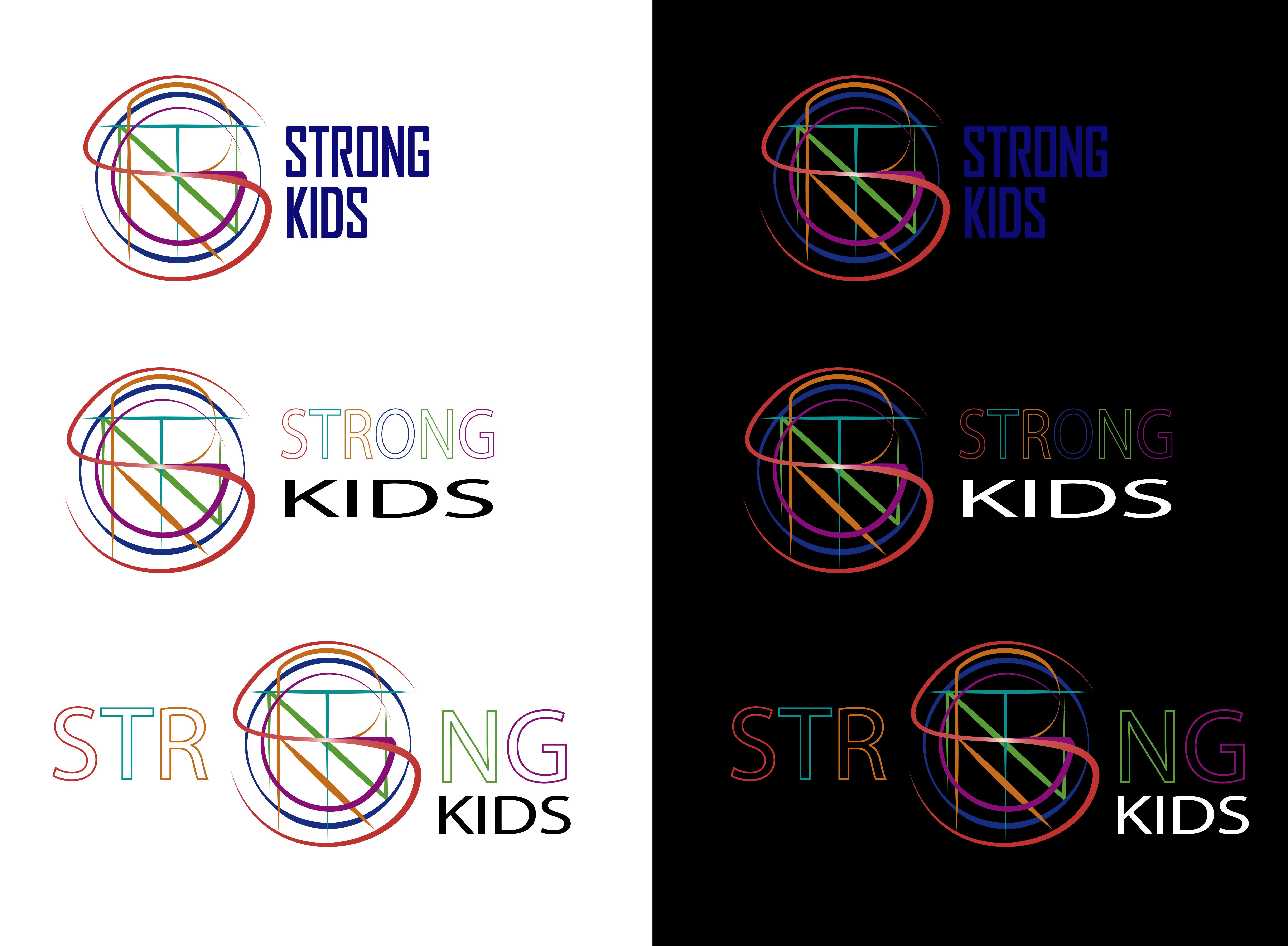 Логотип для Детского Интернет Магазина StrongKids фото f_1305c76af8387956.jpg