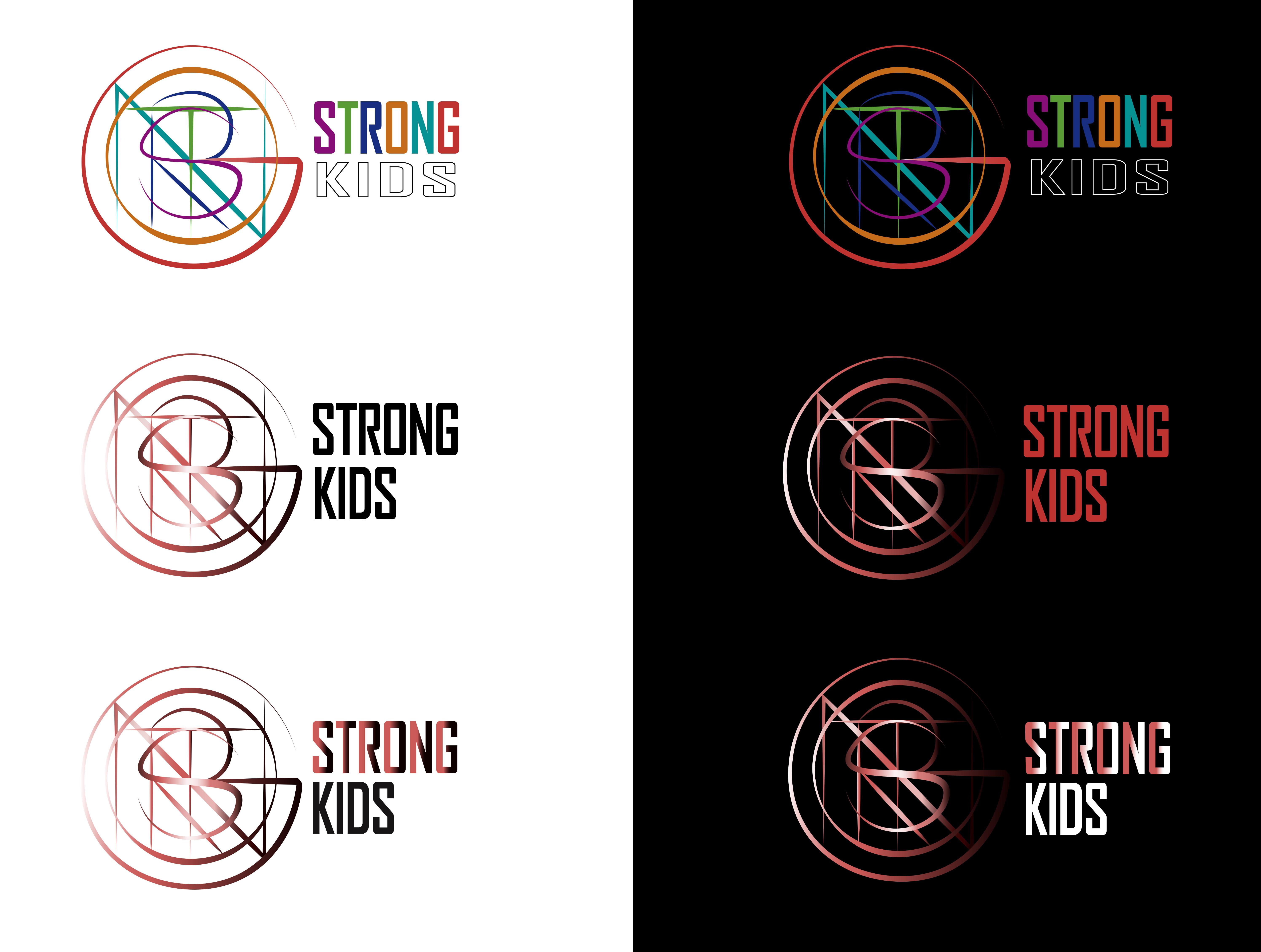 Логотип для Детского Интернет Магазина StrongKids фото f_4595c76b92d5abe3.jpg
