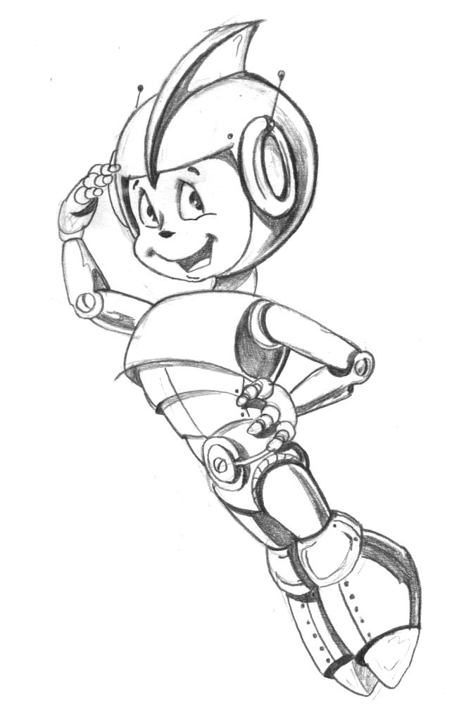 """Модель Робота - Ребёнка """"Роботёнок"""" фото f_4b61bfd02b688.jpg"""