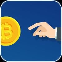 Баннер криптовалютной компании