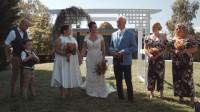 Монтаж ролика свадебной церемонии австралийской пары
