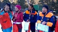 Съемка соревнований по ледолазанию в горах Цея.