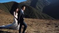 Монтаж ролика свадебной прогулки в горах
