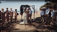 Монтаж свадебной церемонии для австралийской пары