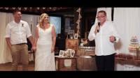 Монтаж свадебного ролика поздравительных речей для австралийской пары