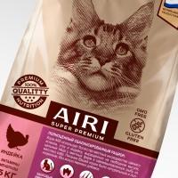 AIRI. Концепт упаковки сухой корм