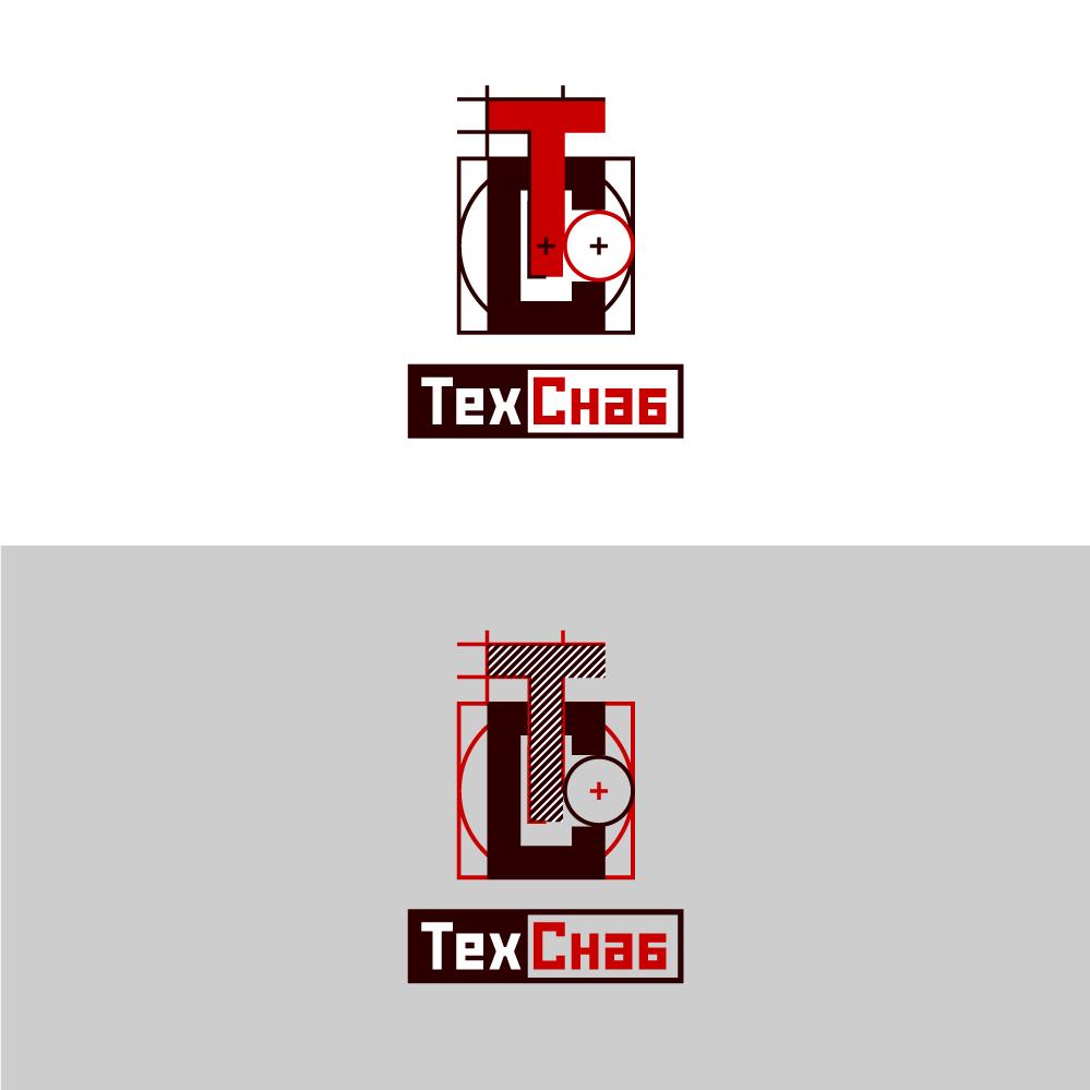 Разработка логотипа и фирм. стиля компании  ТЕХСНАБ фото f_7865b1b958d83041.jpg