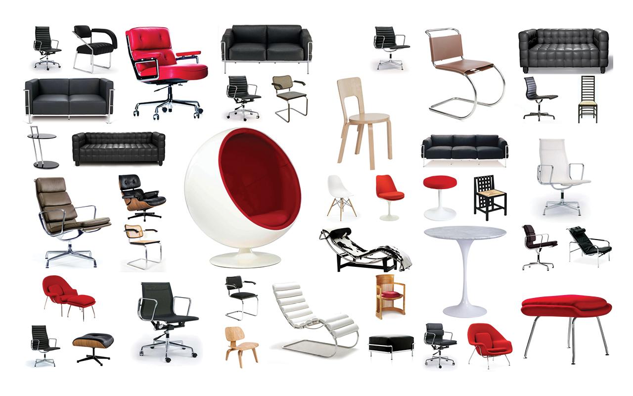Редактирование фото для каталога дизайнерской мебели