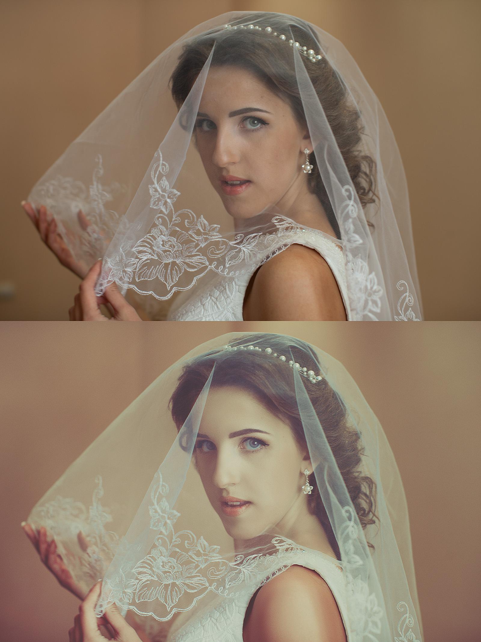 Женский портрет. Фотография, цветокоррекция, ретушь.