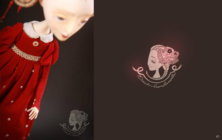 Логотип для кукольной мастерицы Юлии Литвиновой