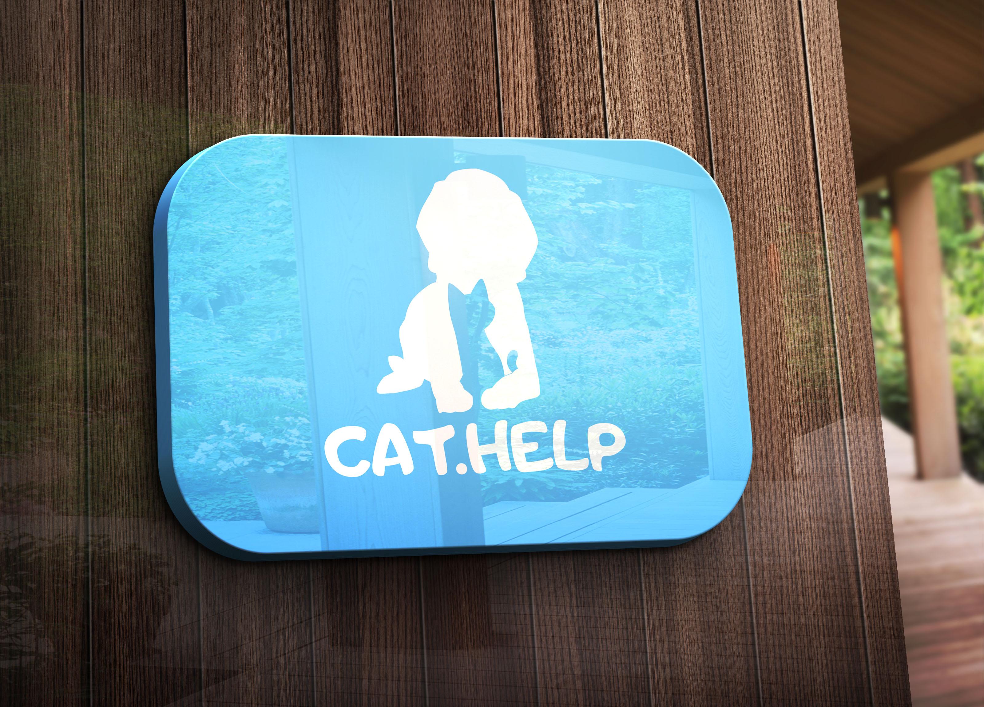 логотип для сайта и группы вк - cat.help фото f_00259da2724a5127.jpg