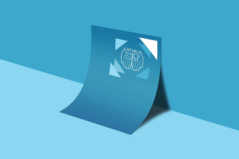 логотип для сайта и группы вк - cat.help фото f_87359da271fbb19b.jpg