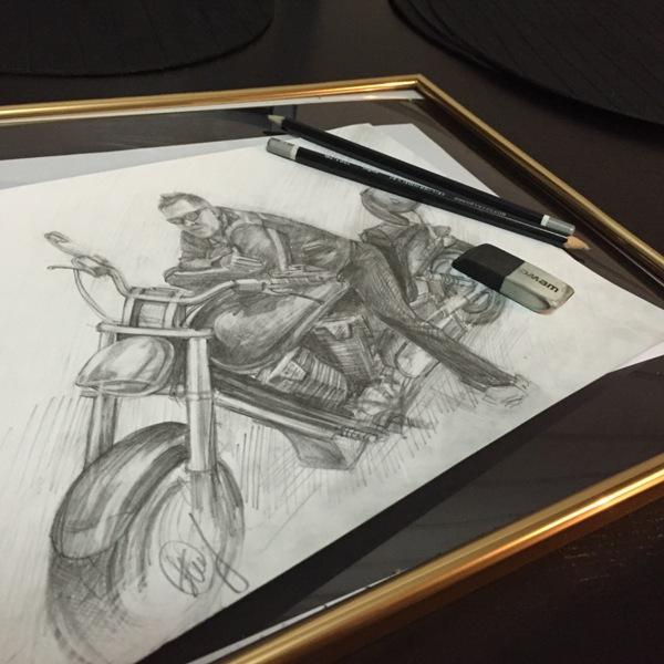 рисунок от руки на заказ