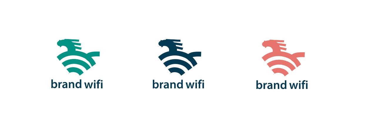"Логотип ""Brand WI-FI"""