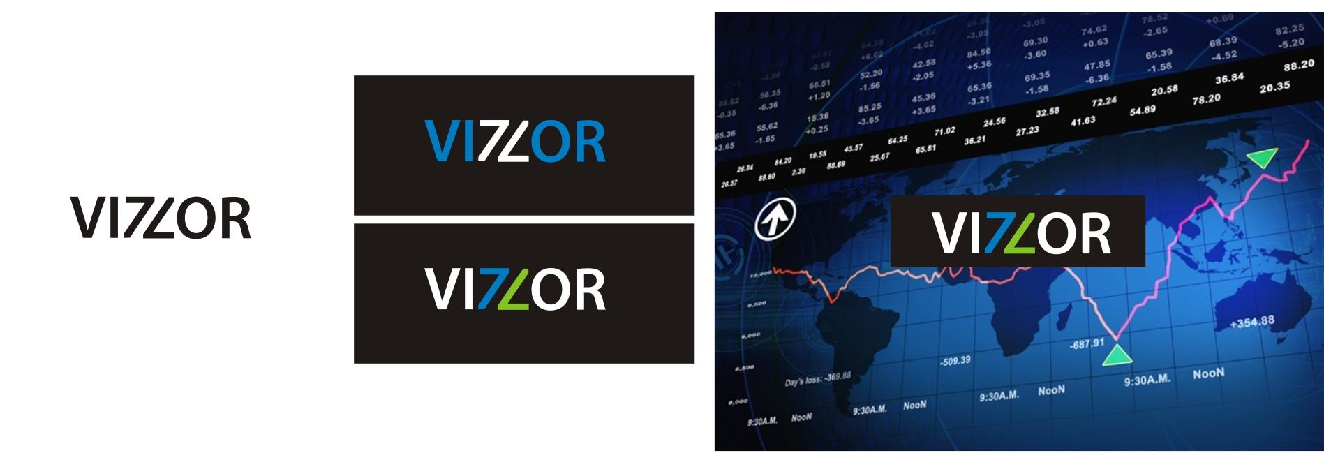 """Логотип """"VIZZOR"""" (биржа)"""