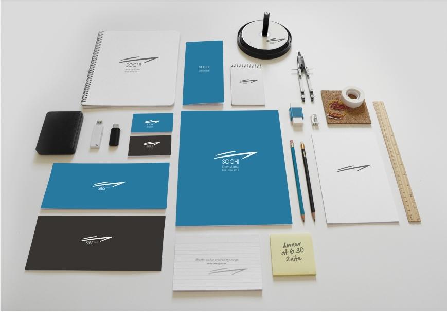 Логотип и фирменный стиль для международной выставки яхт и катеров в г.Сочи