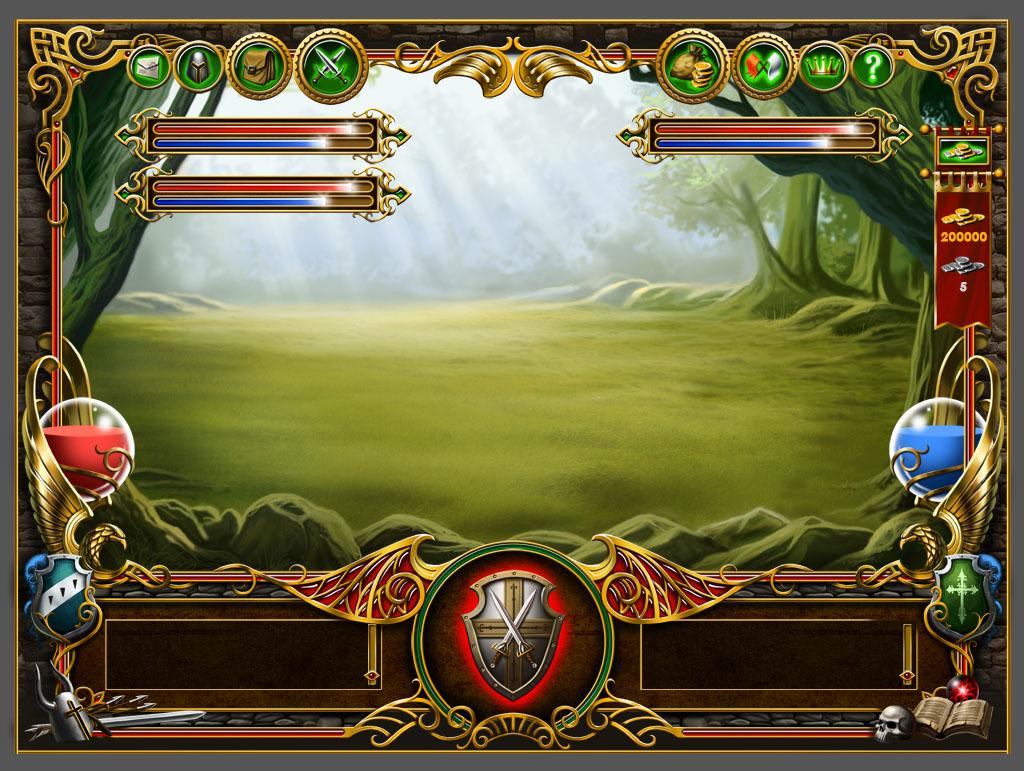 Интерфейс онлайн игры3
