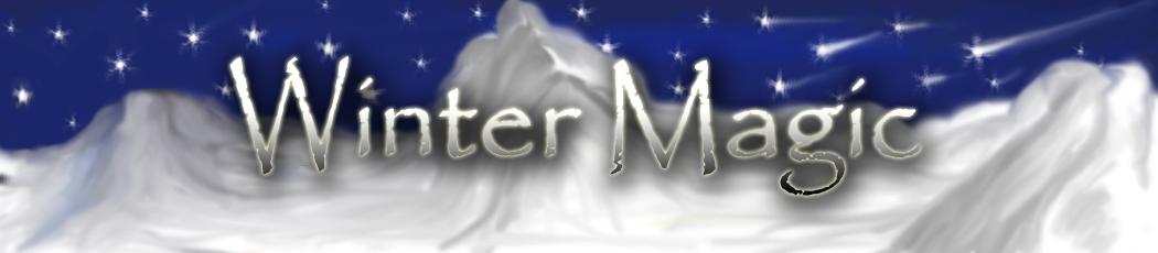 Баннер для сайта Winter Magic.