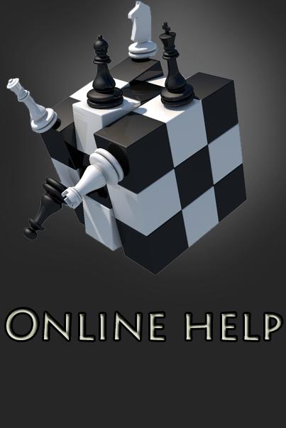 Логотип для паблика в вконтакте Online Help.