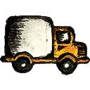 Иконка грузовика, по заданному формату 3