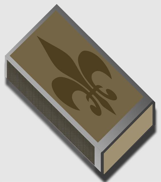 Дизайн спичечного коробка