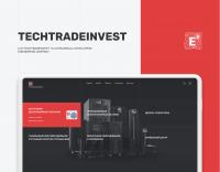 Корпоративный сайт Техтрейдинвест