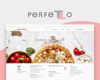 Сайт ресторана Perfetto