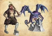 гном и дракон