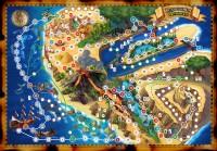 Игровая карта Сокровища Флинта