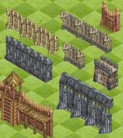 стены и заборы игра