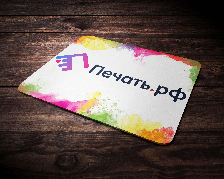 Логотип для веб-сервиса интерьерной печати и оперативной пол фото f_0885d2c0191daf86.jpg