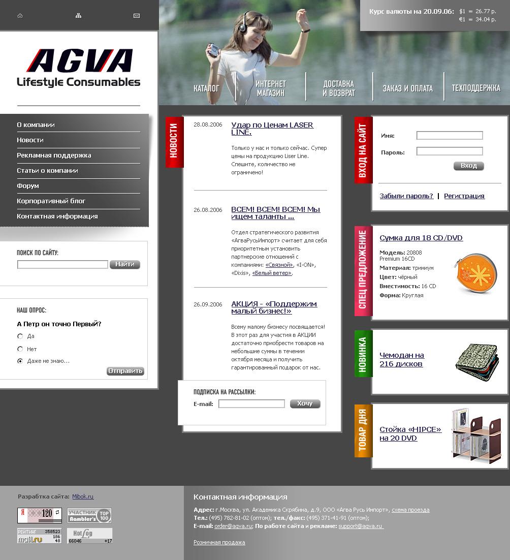 Магазин AGVA