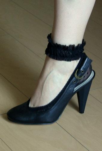 Часто подследники даже преображают обувь.