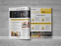 Дизайн коммерческого предложения для студии EMS тренировок