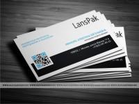 Визитка для LansPak