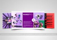 Презентация для ManlyPro (профессиональная косметика)