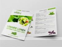 Буклет А4. Правильное питание. Доставка обедов