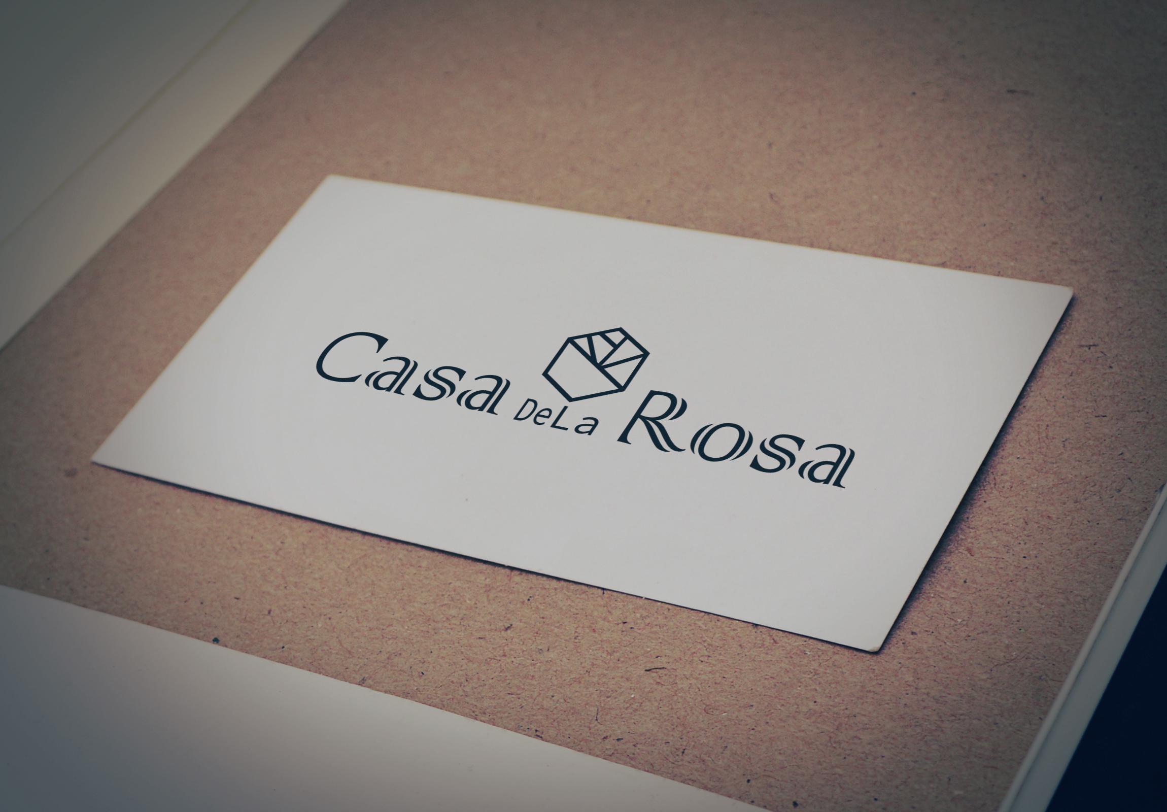 Логотип + Фирменный знак для элитного поселка Casa De La Rosa фото f_1215cd32249f06ba.jpg