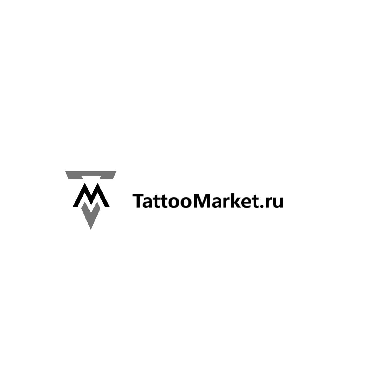 Редизайн логотипа магазина тату оборудования TattooMarket.ru фото f_6365c3cccac82871.jpg