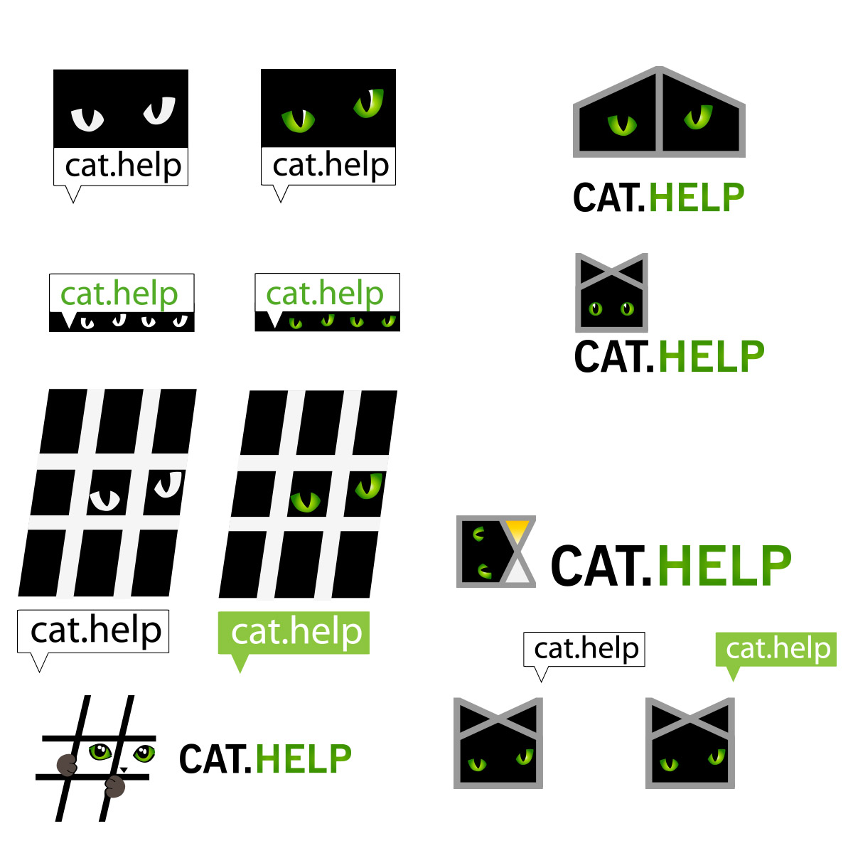логотип для сайта и группы вк - cat.help фото f_56959e513a981cf4.jpg