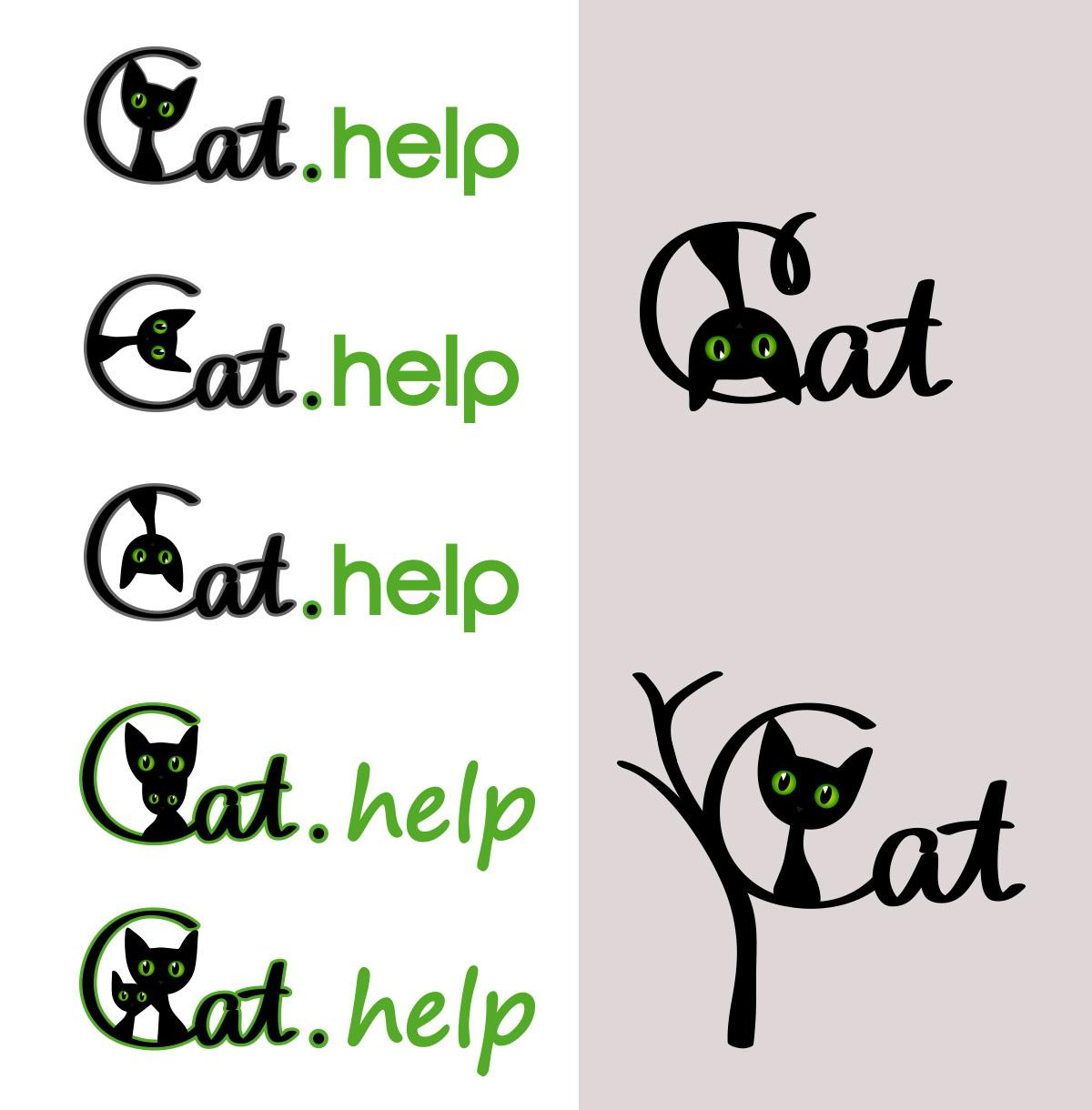 логотип для сайта и группы вк - cat.help фото f_78759e513ad1bb68.jpg