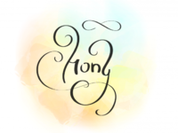 Разработка индивидуальной рукописной надписи