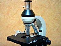 Профессиональный цифровой микроскоп высокого разрешения для микроскопии...