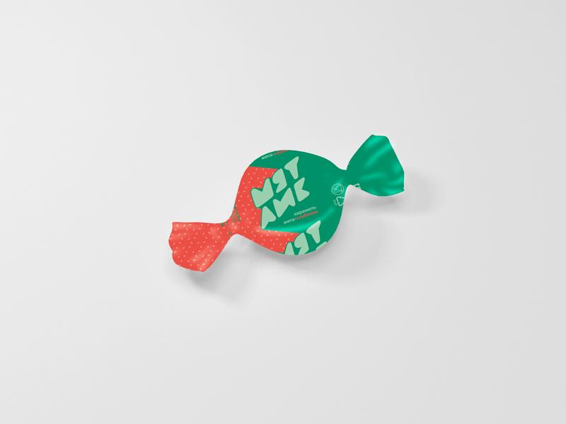 Разработка дизайна упаковки для мятной карамели от Рот Фронт фото f_32759f09c8be13de.jpg