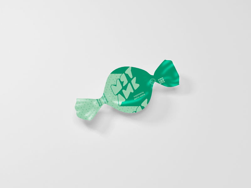 Разработка дизайна упаковки для мятной карамели от Рот Фронт фото f_64759f09cb3386bf.jpg