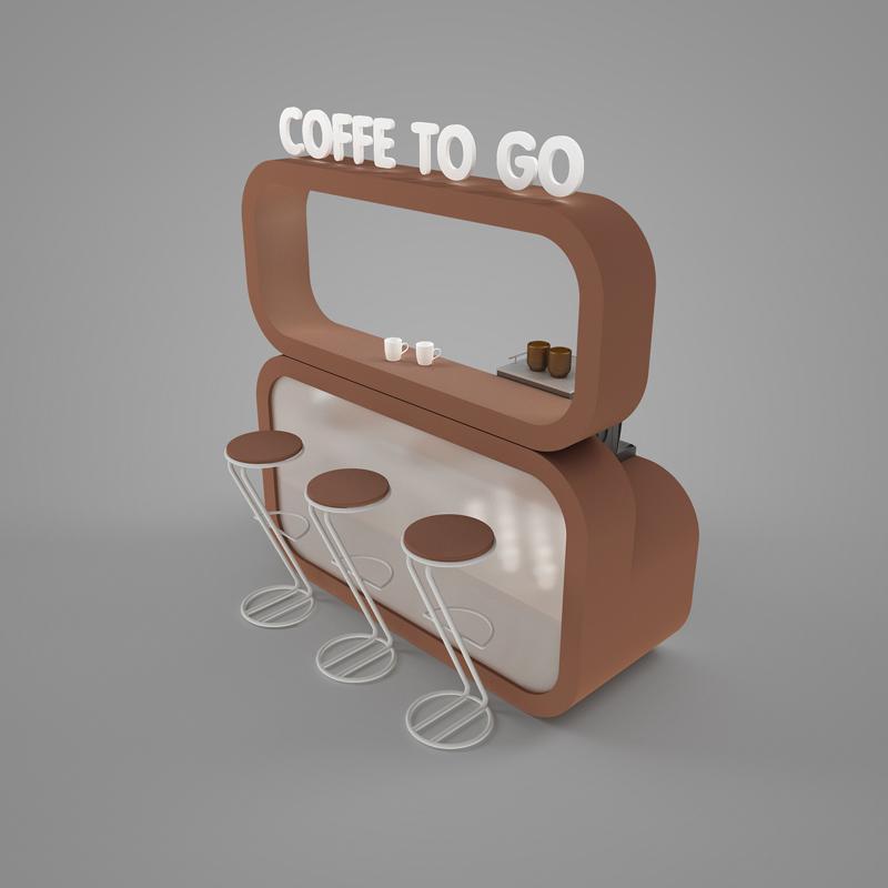 Стенд - кофе