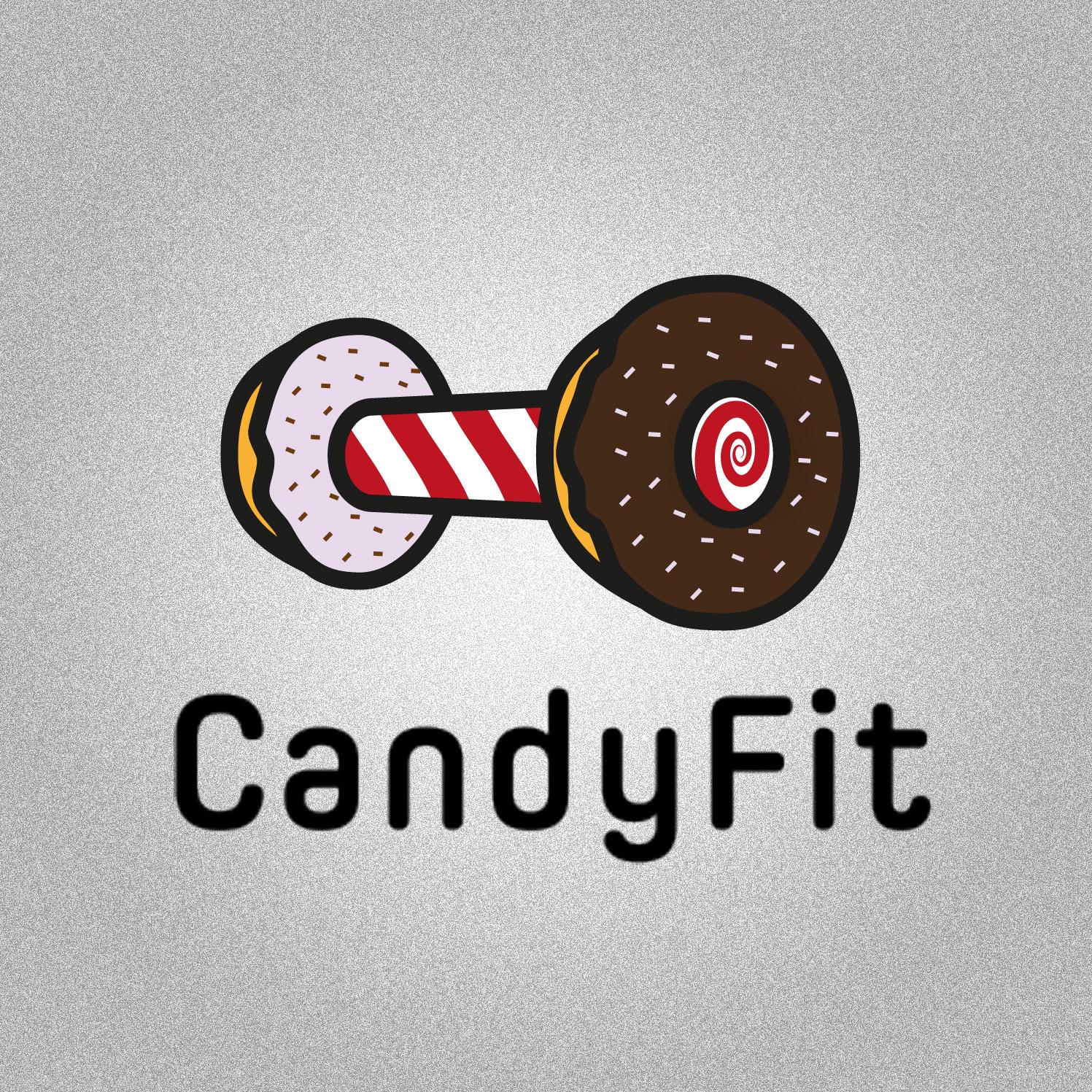 """Разработать логотип для """"CandyFit"""" фото f_34551e3c35a59d6a.jpg"""